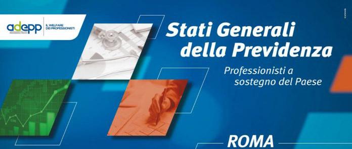 Save the date, Stati Generali della Previdenza